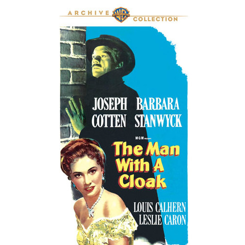 The Man with a Cloak [DVD] [1951]