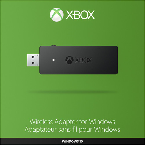 Microsoft - Xbox Wireless Adapter for Windows - Black