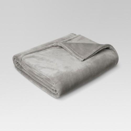 Microplush Bed Blanket (Twin) SEAGULL - Threshold