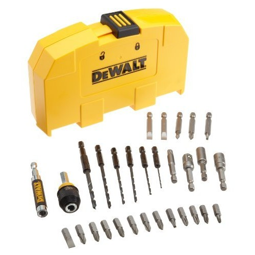 DEWALT DW2518 Rapid-Load 30-Piece Drilling and Driving Set in Plastic Case