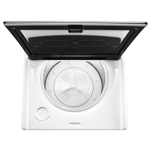 Whirlpool 5.3-Cu.-Ft. High-Efficiency Top-Load Washer with Active Spray Technology - White