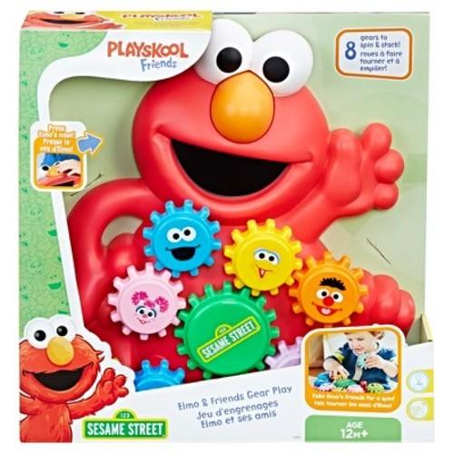 Playskool Friends Sesame Street Elmo and Friends Gear Play