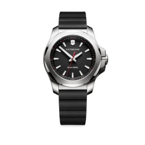 I.N.O.X. Round Stainless Steel Analog Watch