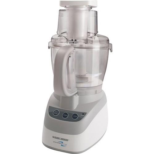 Black & Decker FP2500 PowerPro Wide-Mouth 10-Cup Food Processor, White [White]