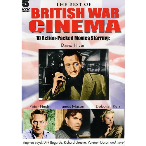 Best of British Cinema 10 Action Packed Movies Rank Collection (DVD)