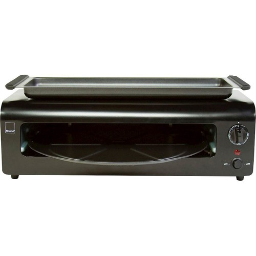 Ronco - Pizza & More Pizza Oven - Black