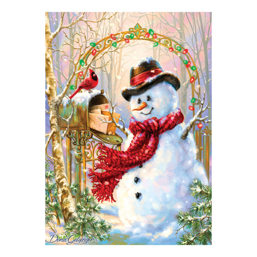 Holiday Glitter Puzzle Letters to Frosty: 500 Pcs