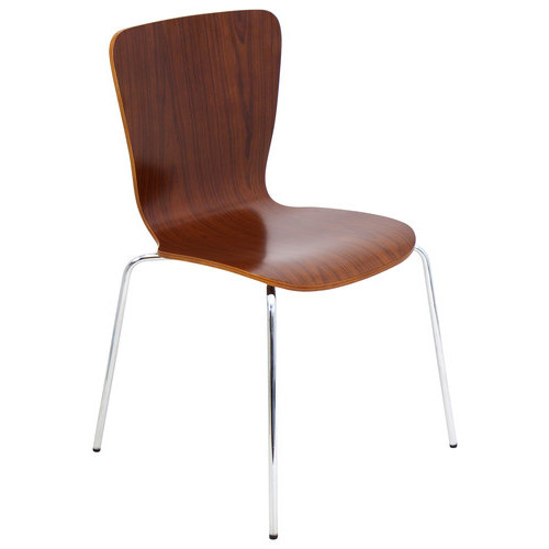 LumiSource - Bentwood Dining Chair - Walnut