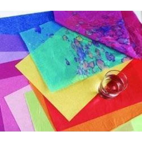 Spectra 436916 Deluxe Bleeding Recyclable Art Tissue Paper, 20