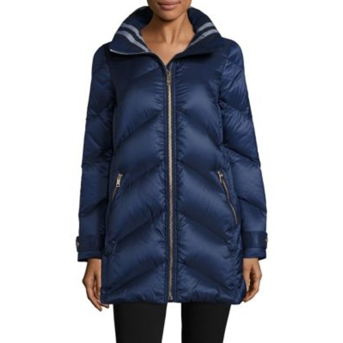 BURBERRY Eastwick Chevron Puffer Jacket