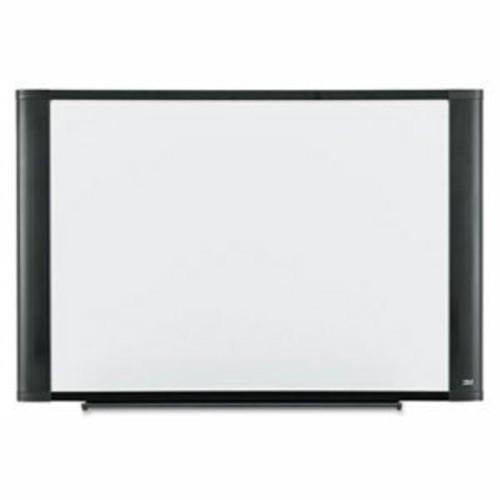 3M Melamine Dry Erase Board, 36 x 24, White, Graphite Frame per EA
