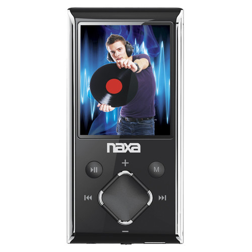Naxa 97088524M Portable Media Player with 1.8