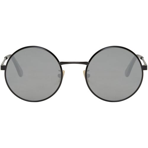 SAINT LAURENT Black Sl 136 Zero Sunglasses