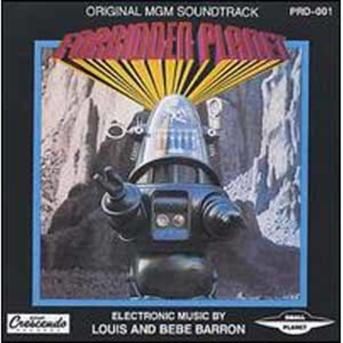 Forbidden Planet Gnp8001.1 Soundtrack