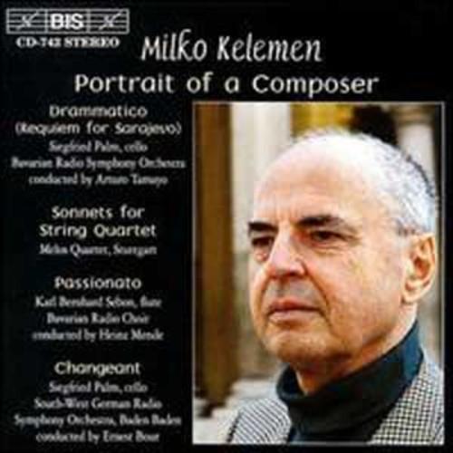 Milko Kelemen Portrait of a Composer (Audio CD)