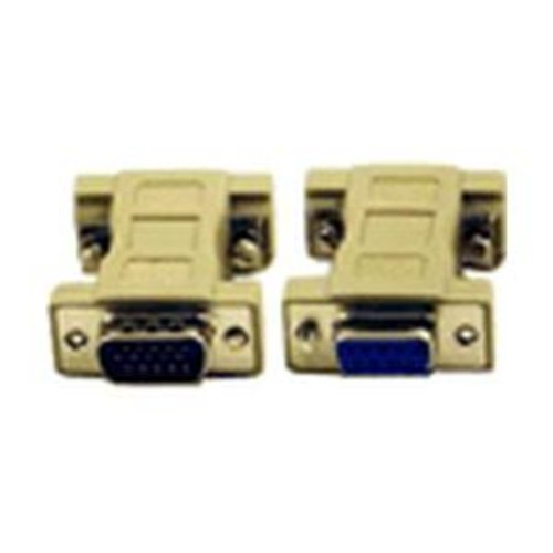 Micro Connectors DB9 Female to HD15 Male Adapter