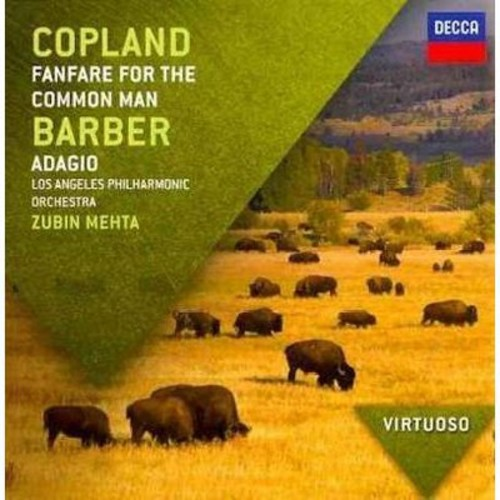 VIRTUOSO: Copland: Fanfare For The Common Man; Barber: Adagio