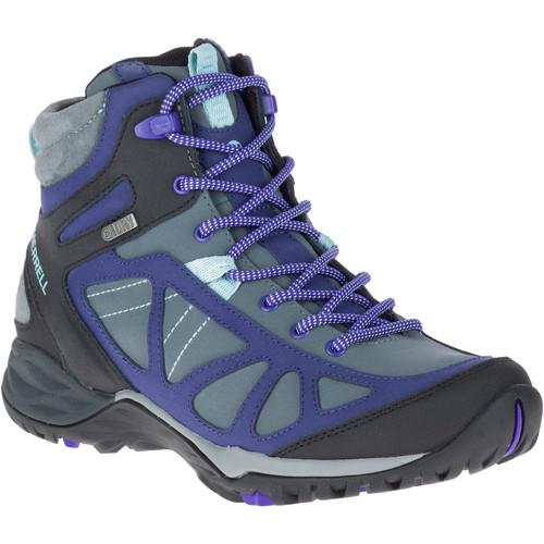 MERRELL Women's Siren Q2 Mid Waterproof Hiking Boots, Turbulence
