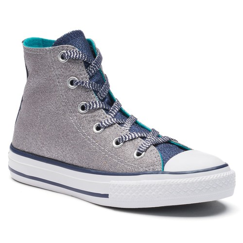 Kids' Converse Chuck Taylor All Star Shine High Top Sneakers