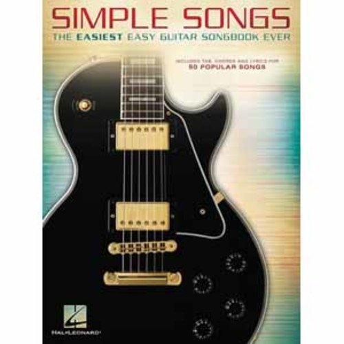 Hal Leonard Simple Songs - Guitar Songbook