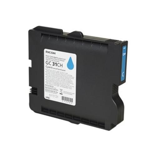 Ricoh OEM 405702 (GC31C HY) Cyan Ink Cartridge for the GX e5550N and GX e7700N
