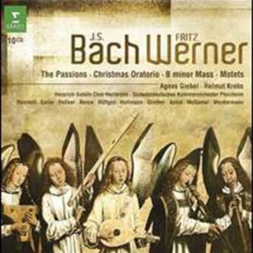 J.S. Bach: The Passions; Christmas Oratorio; B minor Mass; Motets By Fritz Werner (Audio CD)