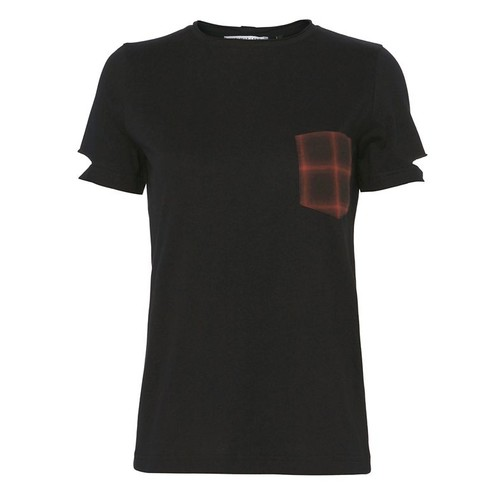 HELMUT LANG Plaid Pocket Tee