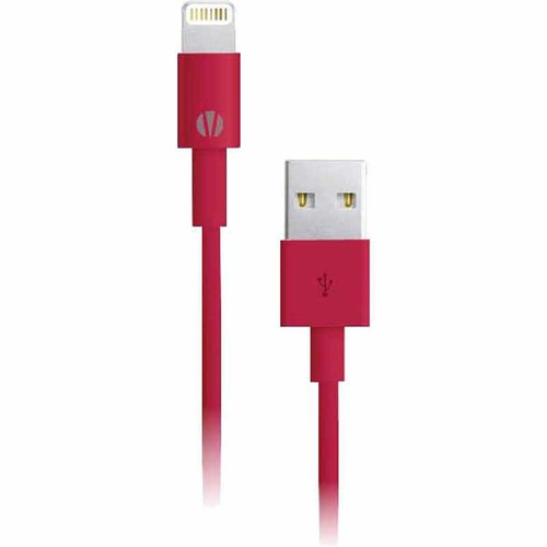 Vivitar Infinite 3' USB Lightning Cable - Red