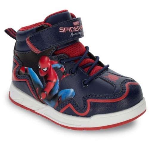 Spider-Man Toddler Boys' Homecoming Hiker Boots - Black
