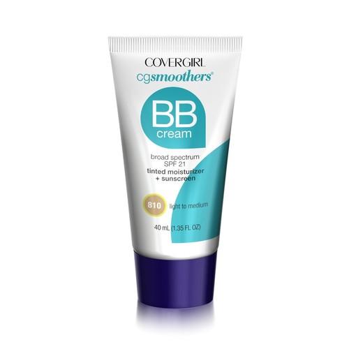 CoverGirl CG Smoothers BB Cream, Broad Spectrum SPF 15, Light to Medium 810, 1.35 fl oz (40 ml)