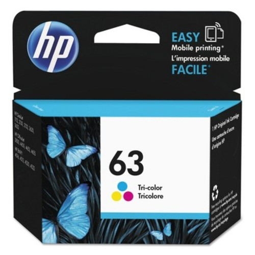 HP 63 Ink Cartridge - Tri-color