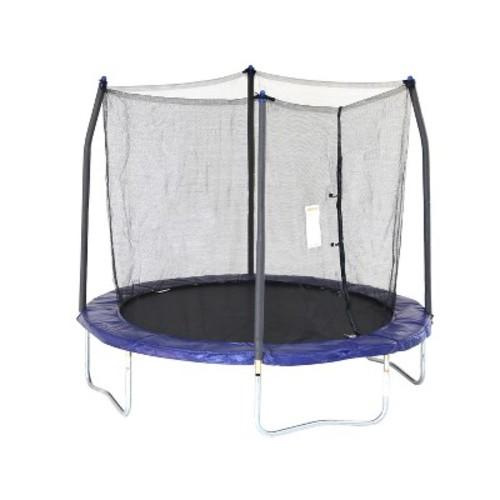 Skywalker Trampolines 8' Round Trampoline with Enclosure - Blue