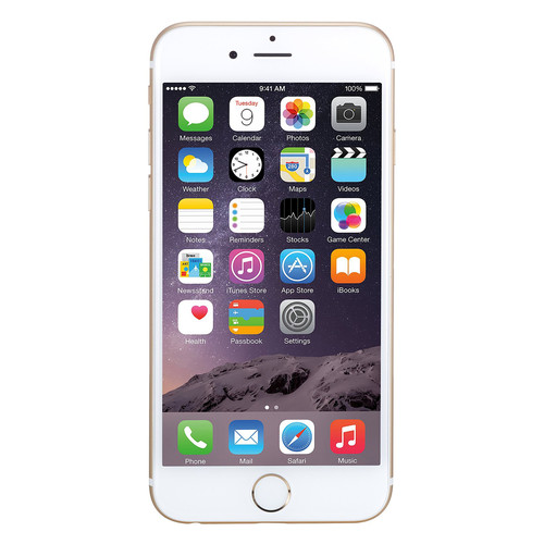 Apple iPhone 6 16GB Unlocked GSM Phone w/ 8MP Camera - Gold (Certified Refurbished)