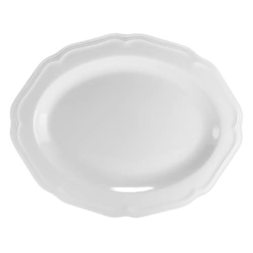 Mikasa Antique White Oval Serving Platter