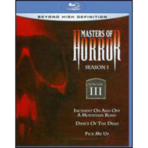 Masters of Horror: Season One, Vol. III [Blu-ray]