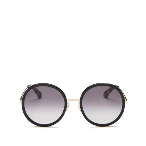 KATE SPADE NEW YORK Lamonica Round Sunglasses, 53Mm