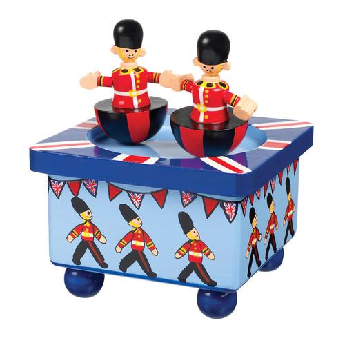 Orange Tree Toys Wooden Soldier Music Box