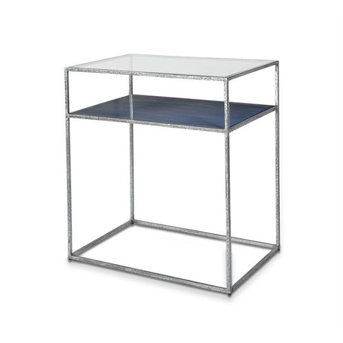 Maci Bedside Table - Cobalt design by Interlude Home