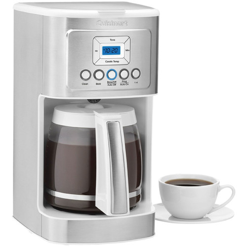 PerfecTemp 14-Cup Programmable Coffeemaker (White) by Cuisinart
