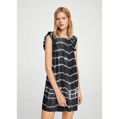 Tie dye print dress