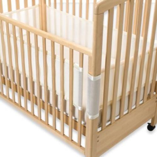 BreathableBaby Breathable Mesh Crib Liner in Ecru