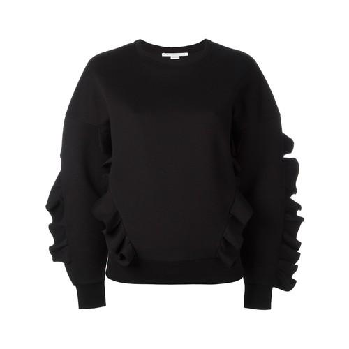STELLA MCCARTNEY Ruffle Trimmed Sweatshirt