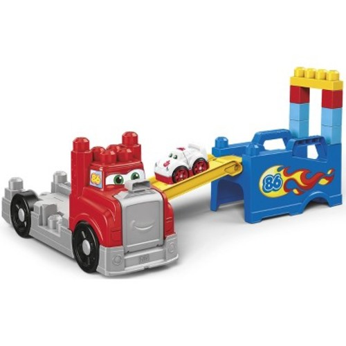 Mega Bloks First Builders Fast Tracks Racing Rig