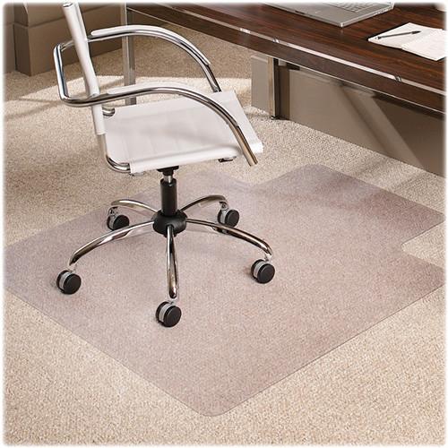 E.S. Robbins Carpet Chairmat, Lip, 46