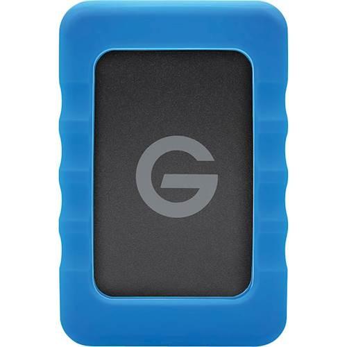 G-Technology - G-DRIVE ev RaW 1TB External USB 3.0 / Serial ATA Portable Hard Drive - Black