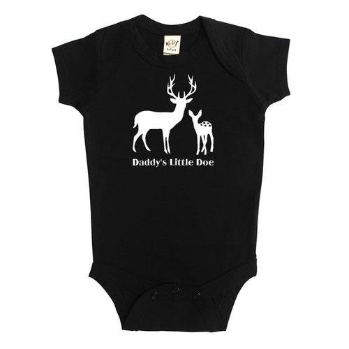Rocket Bug Baby Daddy's Little Doe Bodysuit