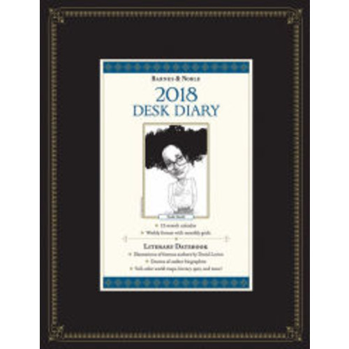 2018 Barnes & Noble Hardcover Desk Diary
