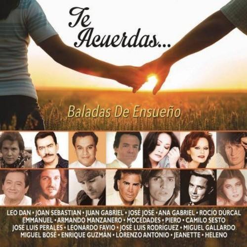 Te Acuerdas: Baladas De Ensueno [Audio CD]