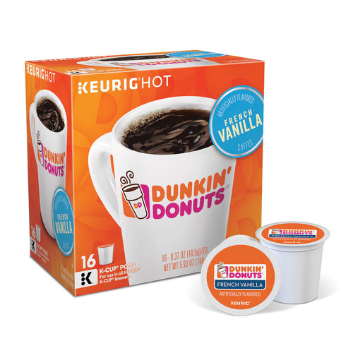 Keurig Dunkin' Donuts French Vanilla Coffee 16-Pk. K-Cup