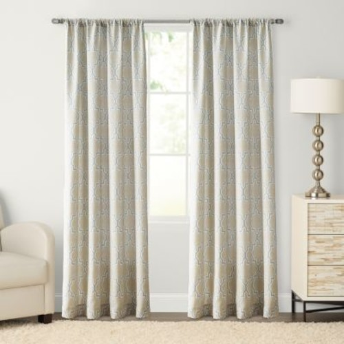 SONOMA Goods for Life Trellis Pole Top Window Curtain